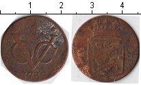 Изображение Монеты Нидерландская Индия 1 дьюит 1789 Медь  Западная Фрисландия