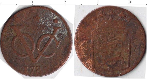 Картинка Монеты Нидерландская Индия 1 дьюит Медь 1789
