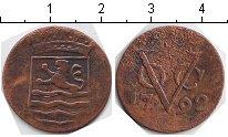 Изображение Монеты Нидерландская Индия 1 дьюит 1792 Медь