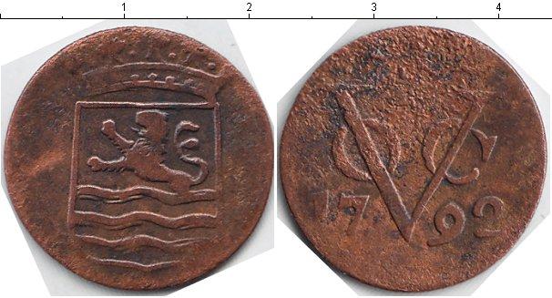 Картинка Монеты Нидерландская Индия 1 дьюит Медь 1792