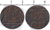 Изображение Монеты Нидерландская Индия 1 дьюит 1786 Медь