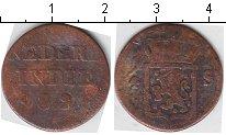 Изображение Монеты Нидерландская Индия 1/4 стюбера 1826 Медь VF