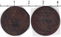 Изображение Монеты Нидерландская Индия 1/4 стювера 1840 Медь VF