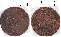 Изображение Монеты Нидерландская Индия 1 дьюит 1789 Медь