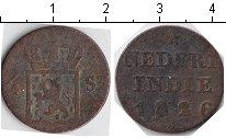 Изображение Монеты Нидерландская Индия 1/4 стювера 1826 Медь VF