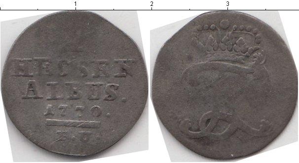 Картинка Монеты Гессен-Кассель 1 альбус Серебро 1770