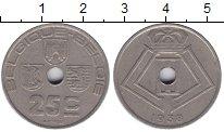Изображение Мелочь Бельгия 25 сантим 1938 Медно-никель XF