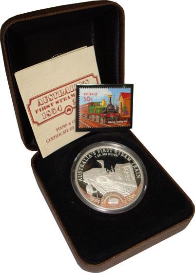 Изображение Монеты Острова Кука 1 доллар 2004 Серебро Proof `Подарочная монета п