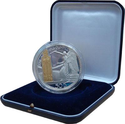Изображение Подарочные монеты Андорра 26 Олимпийские игры 1995 Серебро Proof- `Подарочная монета п