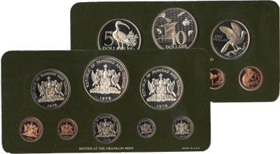 Изображение Подарочные наборы Тринидад и Тобаго Выпуск памятных монет 1978 года 1978   `Выпуск памятных мон