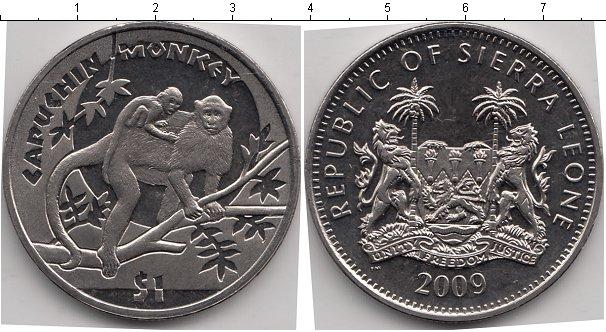 Картинка Мелочь Сьерра-Леоне 1 доллар Медно-никель 2009