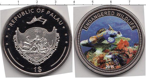 Картинка Мелочь Палау 1 доллар Медно-никель 2011