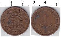 Изображение Монеты Мозамбик 1 эскудо 1968 Медь VF