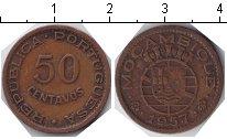 Изображение Монеты Мозамбик 50 сентаво 1957 Медь VF