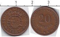 Изображение Монеты Мозамбик 20 сентаво 1961 Медь VF