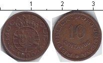 Изображение Монеты Мозамбик 10 сентаво 1960 Медь VF