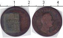 Изображение Монеты Баден 1 крейцер 1837 Медь  Леопольд.