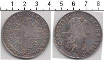 Изображение Монеты Великобритания 1 крона 1662 Серебро VF Чарльз II