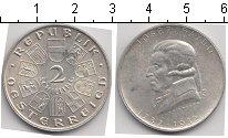 Изображение Монеты Австрия 2 шиллинга 1932 Серебро UNC- Джозеф Хайд