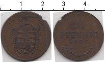 Изображение Монеты Саксе-Кобург-Саалфельд 3 пфеннига 1807 Медь