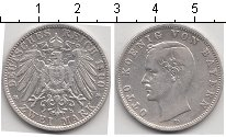 Изображение Монеты Бавария 2 марки 1900 Серебро XF