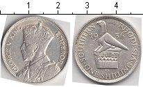 Изображение Монеты Родезия 1 шиллинг 1936 Серебро XF Георг V