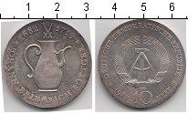 Изображение Монеты ГДР 10 марок 1969 Серебро UNC- 250 лет со дня смерт