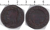 Изображение Монеты Франция 5 сантим 0 Медь