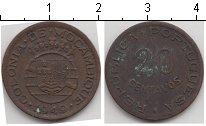 Изображение Монеты Мозамбик 20 сентаво 1949 Медь XF