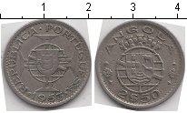 Изображение Монеты Ангола 2 1/2 эскудо 1953 Медно-никель