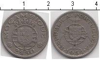 Изображение Монеты Мозамбик 2 1/2 эскудо 1954 Медно-никель VF