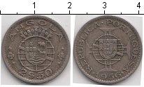 Изображение Монеты Ангола 2 1/2 эскудо 1956 Медно-никель