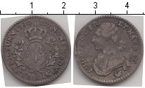 Изображение Монеты Франция 1/10 экю 1780 Серебро VF Луи XVI