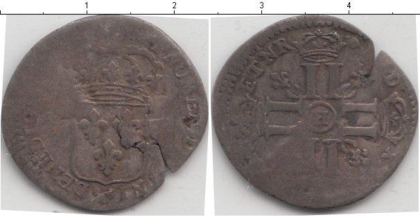 Картинка Монеты Франция 15 деньер Серебро 0