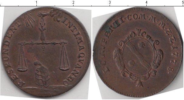 Картинка Монеты Франция жетон Медь 1778