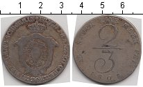 Изображение Монеты Германия Мекленбург-Шверин 2/3 талера 1808 Серебро