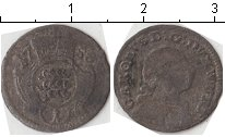 Изображение Монеты Вюртемберг 1 крейцер 1758 Серебро  Карл
