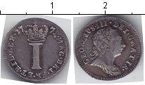 Изображение Монеты Великобритания 1 пенни 1772 Серебро  Георг III