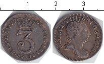 Изображение Монеты Великобритания 3 пенса 1762 Серебро