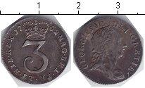 Изображение Монеты Великобритания 3 пенса 1762 Серебро  Георг III