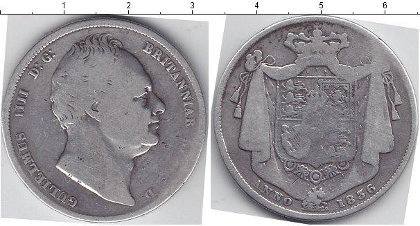 Картинка Монеты Великобритания 1/2 кроны Серебро 1836
