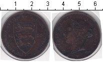 Изображение Монеты Остров Джерси 1/12 шиллинга 1877 Медь