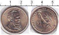 Изображение Мелочь США 1 доллар 2011 Медно-никель UNC 19 й президент США Р