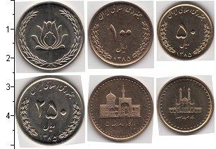 Изображение Наборы монет Иран Иран 2008 2008  UNC-
