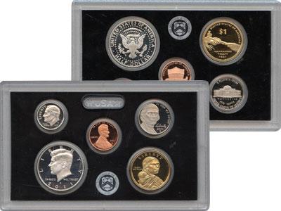 Изображение Подарочные монеты США Выпуск 2011 года 2011  Proof