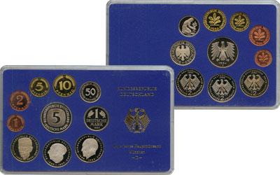 Изображение Подарочные монеты ФРГ Монеты 1984 (чеканка Мюнхен) 1984  UNC