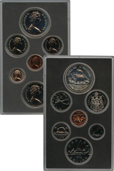 Изображение Подарочные монеты Канада Парусник Гриффон 1979  Prooflike `Парусник ``Гриффон`