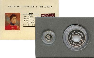 Изображение Подарочные монеты Австралия Десятичная система 1990 Серебро Proof Подарочный набор пос