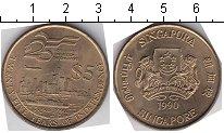 Изображение Мелочь Сингапур 5 долларов 1990 Медно-никель UNC-