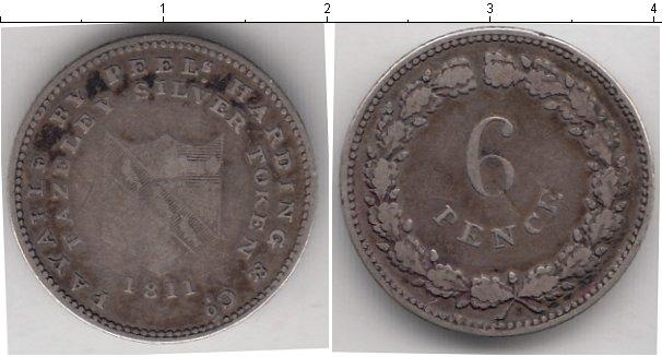 Картинка Монеты Великобритания 6 пенсов Серебро 1811